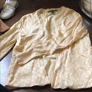 Gorgeous silk kimono style jacket by Winter Kate L